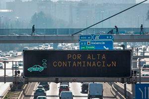 Restriciones de vehículos por categorías contaminantes