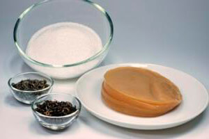 Ingredientes para preparar Kombucha